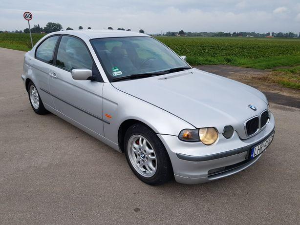 BMW e46 compakt 2001r 1.8 benzyna 116KM klimatyzacja zamiana