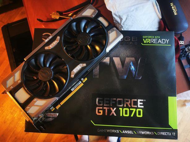 Nvidia Geforce Evga GTX 1070 8gb FTW