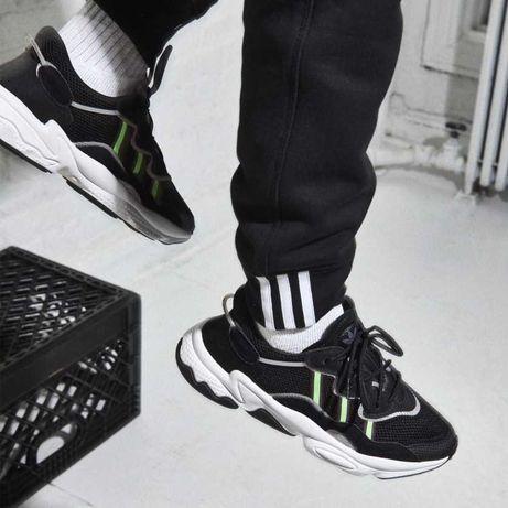 Кроссовки мужские демисезонные Adidas Ozweego черные