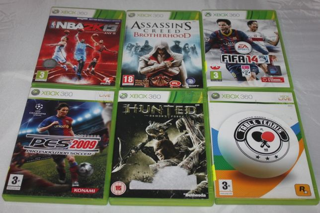 Gra na konsolę Xbox360 Table Tennis