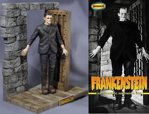 Moebius Frankenstein Kit de Montagem Figura Universal Studios