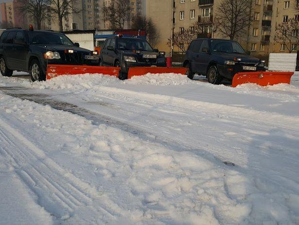 Odśnieżanie dróg parkingów chodników  Katowice Tychy Chorzow