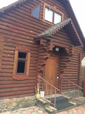 Новый дом из сруба в Количевке! Навес, баня. Рядом Десна!