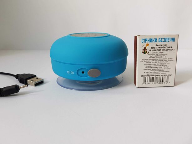Портативная колонка BTS06 Bluetooth,водозащита,микрофон. для разговора