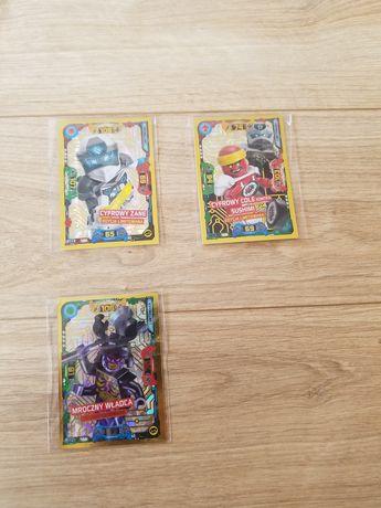 Karty limitowane lego ninjago tcg