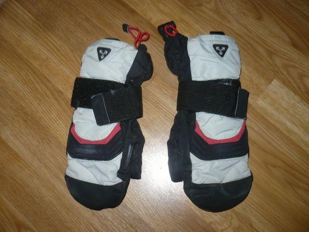 Перчатки Рукавицы лыжные с защитной пластиной 7р.