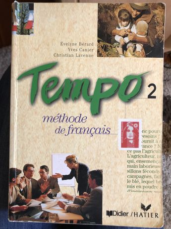 Podręcznik do francuskiego Tempo 2