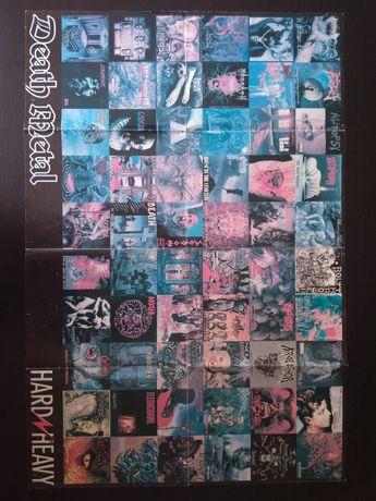 Poster antigo de Death Metal