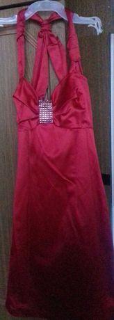 Sukienka czerwona r.38