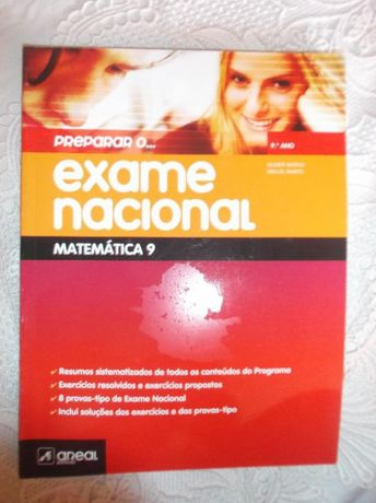 preparar o exame nacional matemática 9ºano