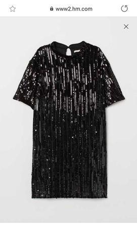Вечірнє плаття в паєтки від HsM