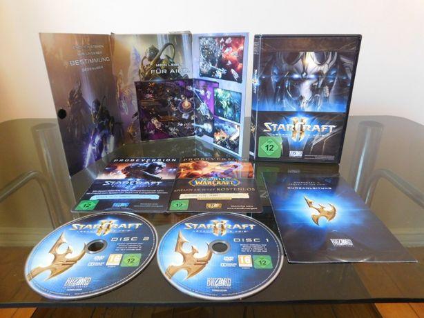 Gry PC Starcraft 2 Legacy Of The Void oraz The Elder Scrolls + mapa