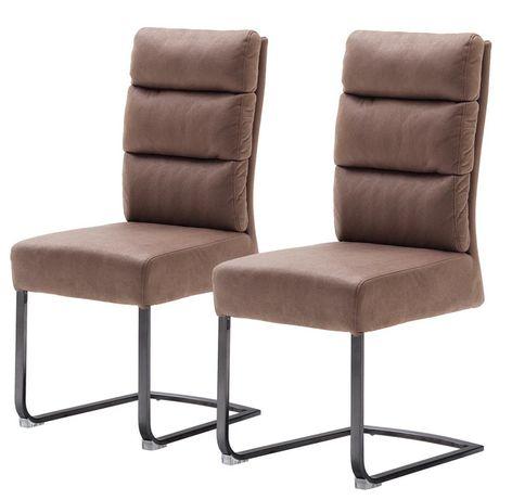 Krzesło tapicerowane do kuchni salonu Redan 2szt.+ 2szt. M021