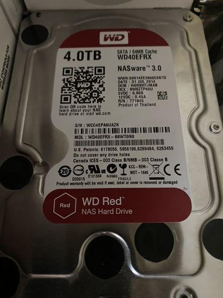 Продам жорсткий диск HDD WD RED на 4 Tb