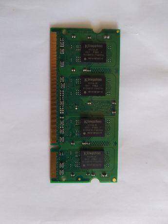 Продаётся оперативная память Kingston DDR2-800 PC2-6400 SODIMM 1024Mb