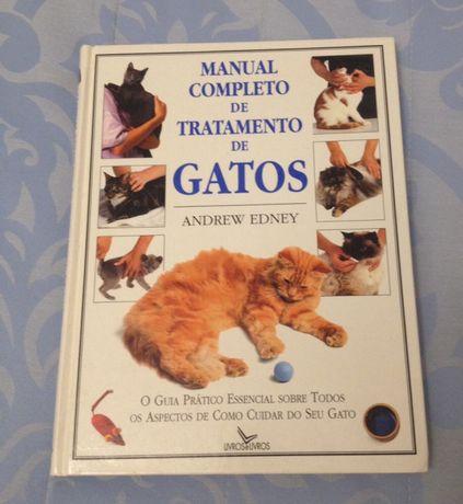 Manual completo de tratamento de gatos