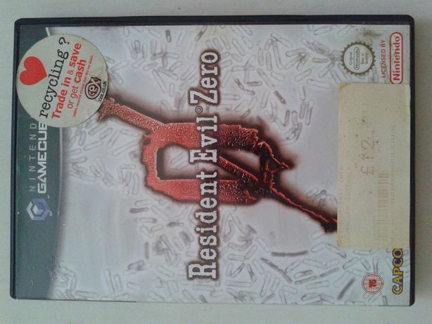 Resident Evil Zero ,Gamecube