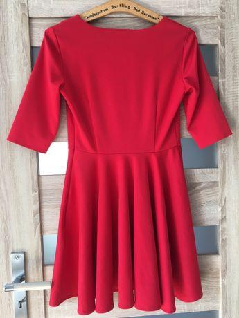 Sukienka z koła , rozkloszowana VUBU , rozmiar L