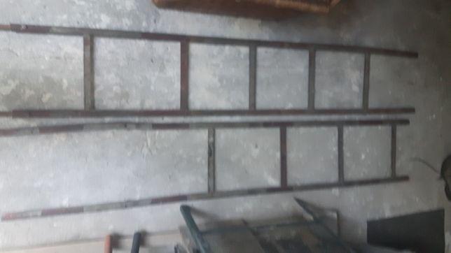 Drabina żelazna 4m