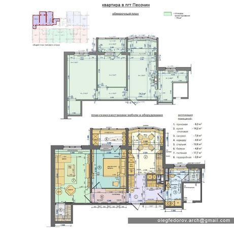 проект планировки. перепланировка квартиры. схема расстановки мебели