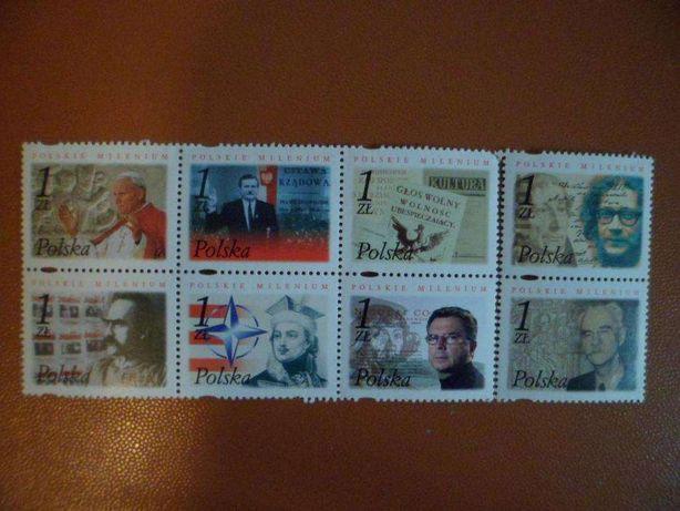 2001.11.11. Polskie milenium Znaczek znaczki pocztowe //Krk