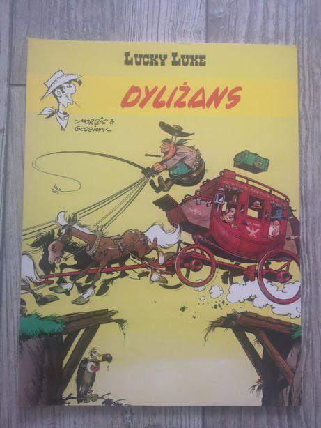 Komiks pt Lucky Luke Dyliżans tom 32