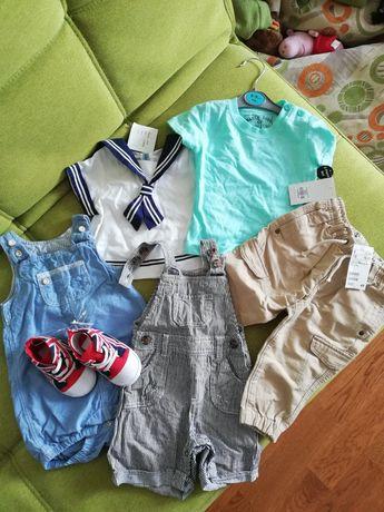 ДЕШЕВО Новая брендовая одежда на мальчика 3-6-9 мес