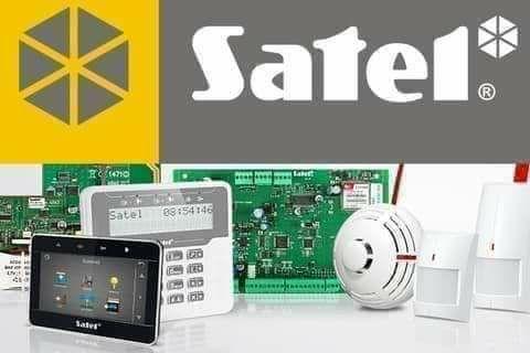 Охоронна сигналізація Satel Встановлення Сигнализация