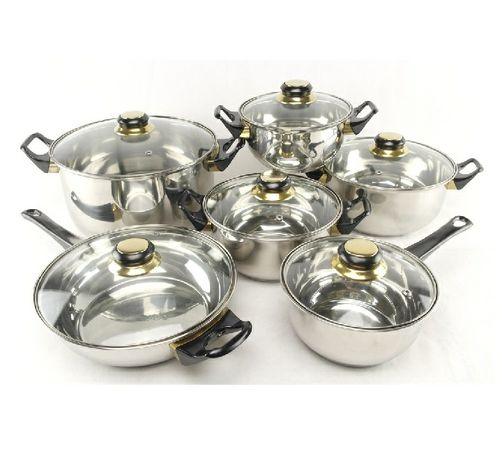 Набор посуды 12 предметов A-Plus