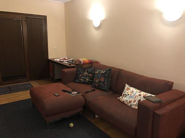 Nockeby sofá ikea 3 Lugares com chaise long