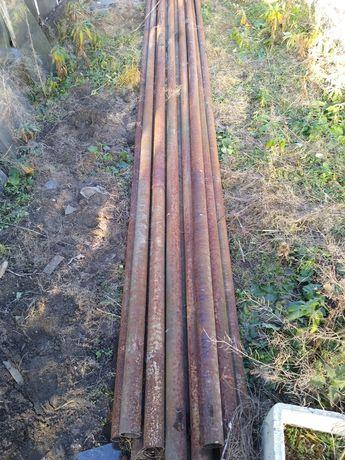 Rury stalowe słupki ogrodzeniowe na wymiar Transport gratis do 100 km