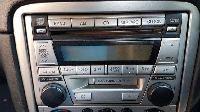 Radioodtwarzacz MAZDA MX-5 Zmieniarka 6CD 2DIN radio