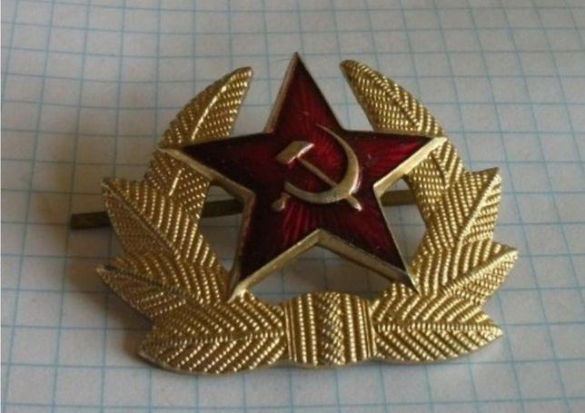 Odznaka wieniec na czapkę zsrr