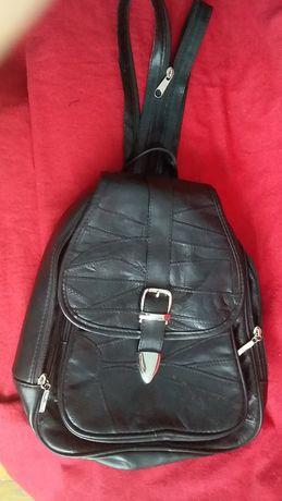 Рюкзак для девочки кожа натуральная,