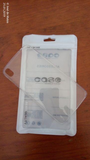 Capa plástico rígido p/ Alcatel Idol 3 de 5.5 polegadas.