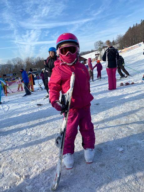 sprzedam zestaw narciarski dla dziecka