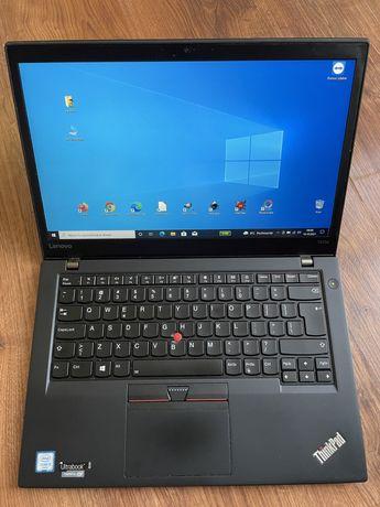 "Laptop Lenovo ThinkPad T470s i5-7300U/8GB/256SSD/14,1""FHD/SC/WIN10 FV"