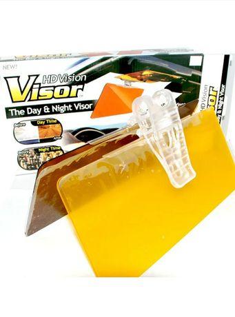 Антибликовый козырек для автомобилей. HD Vision visor