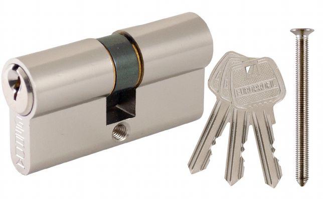 Wkładka 30/35 nikiel satyna GERDA zamka drzwi
