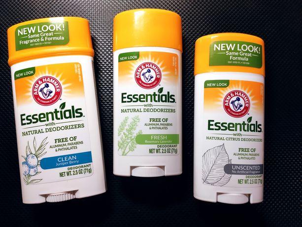 Натуральный дезодорант для мужчин и женщин Essentials, 71г.