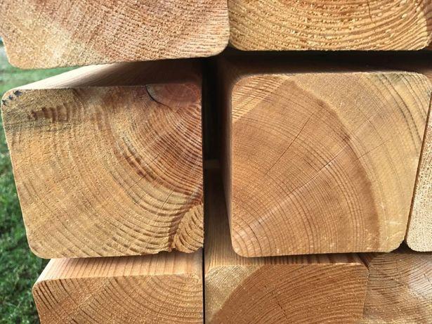 Drewno konstrukcyjne,belka, 95x95mm C24 Skandynawska