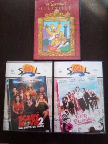 DVD Filmes Vários