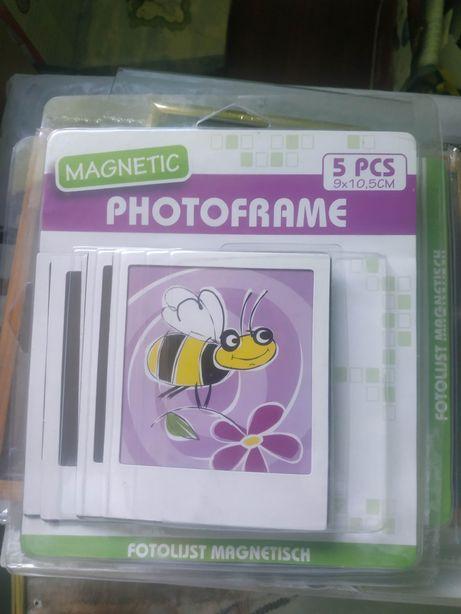 Фото рамка магнит на холодильник.