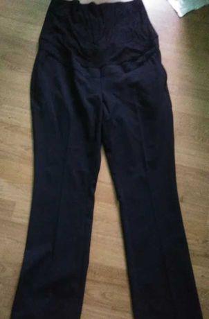 Czarne spodnie ciążowe firmy Next