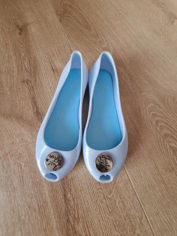 Nowe gumowe balerinki 37