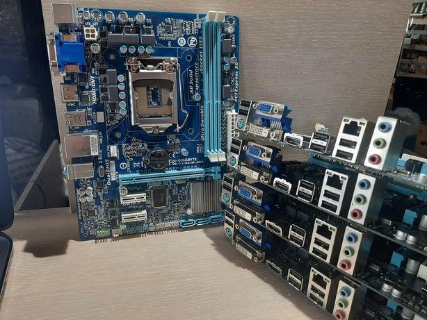 Продам материнскую плату Gigabyte GA-H61M-HD2, s1155, ddr3. Количество
