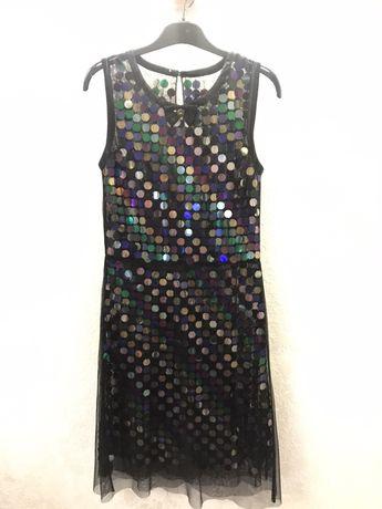 Вечернее платье в паетках Fornarina