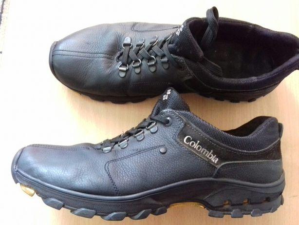 Кожаные туфли-кроссовки 43р