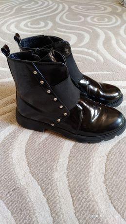 Ботинки на девочку осение деми