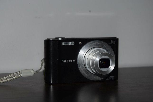 Aparat cyfrowy Sony Cyber-Shot DSC-W810 Czarny 20,1Mpix